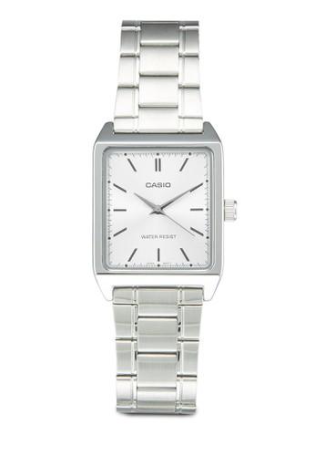 Casio MTP-V007D-7EUDesprit twF 不銹鋼方錶, 錶類, 不銹鋼錶帶