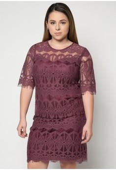 Pd Lucille Plus Size Dress