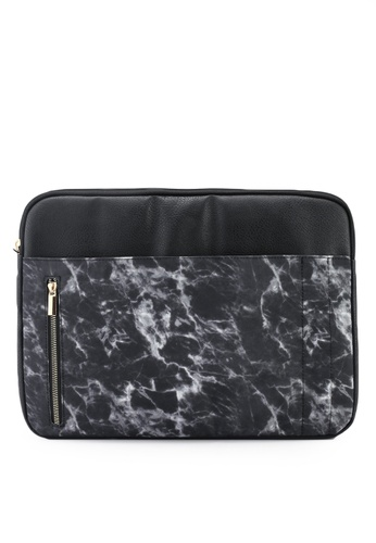 Typo black Take Charge 15 Inch Laptop Cover ED377AC491CFEAGS_1