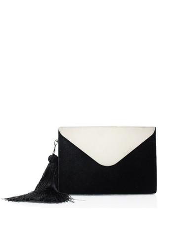 Rotelli black Clutches RO968AC0VSKIID_1
