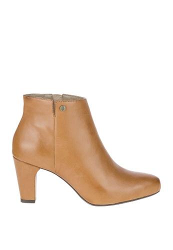 Hush Puppies brown Morning Meaghan Boots HU326SH0K7KTPH_1