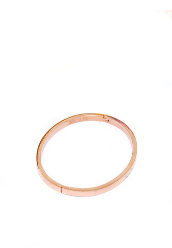 ASLLY pink and gold Time Imprint │ Pink Bracelet 400F6AC7AAAFCEGS_1