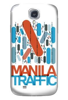 Manila Traffic Matte Hard Case for Samsung Galaxy S4