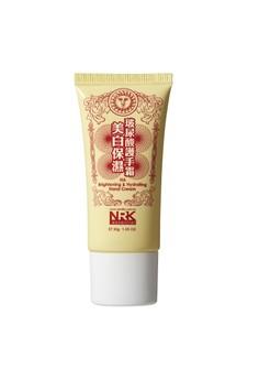 Naruko Peptide Nourishing and Smoothing Hand Cream 30g Free 1x NRK Q10 Age Defying Brightening Mask