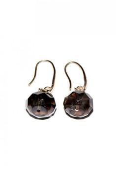 Smoky Quartz Dangling Earrings