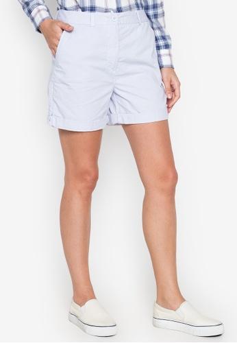 MARKS & SPENCER blue Chino Shorts 5FABCAA122296AGS_1