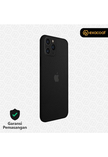Exacoat iPhone 11 / 11 Pro 3M Skins Leather Series - Leather Black B3C0EES7989587GS_1