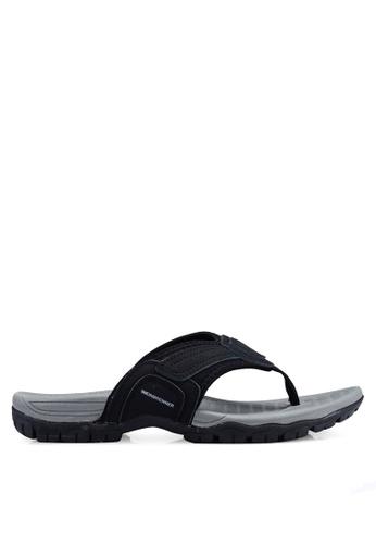 Weinbrenner black Slip On Sandals B5813SHCB7C265GS_1