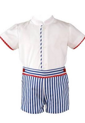 RAISING LITTLE white and red and navy Aguirre Outfit Set 7341BKABAD8C80GS_1