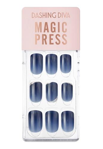 Dashing Diva navy Dashing Diva 1 SEC. MAGIC PRESS Manicure Vintage Navy/ Press on Nails /Nail Tips 4D78FBE17DEE20GS_1