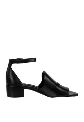Nine West black NWXQUILZA Ankle Strap Sandals D178CSH5A4CA66GS_1