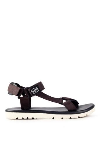 Navara brown Clark Brown EVA Sandals 021DBSH69BB7D5GS_1