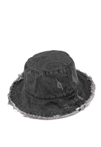 Milliot & Co. grey Amity Bucket Hat 50EF9ACB2D100CGS_1