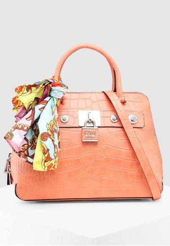 c76fafcc73 Buy Guess Anne Marie Dome Satchel Bag