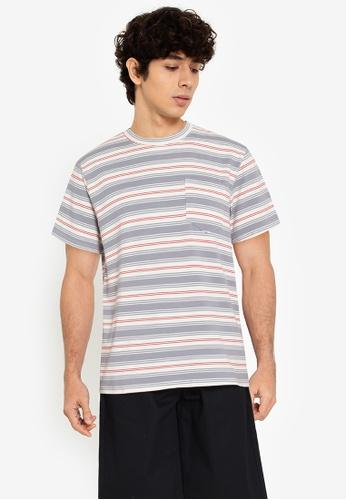 ZALORA BASICS multi Various Stripes T-Shirt 07FF2AABB9EBB8GS_1