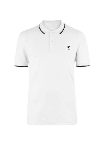 MARKS & SPENCER white Cotton Hummingbird Motif Polo Shirt 5C098AA257FD77GS_1