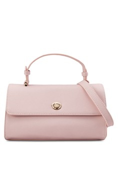 Saffiano Flap Bag