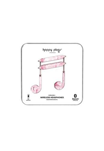 happy plugs pink Happy Plugs Wireless II - Pink Marble 638E7ACBAC7995GS_1