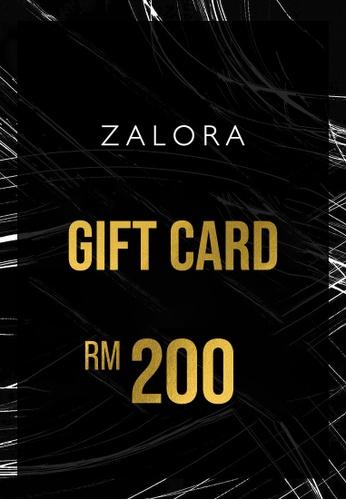 E-Gift Cards ZALORA E-Gift Voucher RM200 EG517AC26HDXMY_1