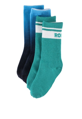 GAP multi 2 Packs Ankle Length Socks A06EEKAADAD4DCGS_1