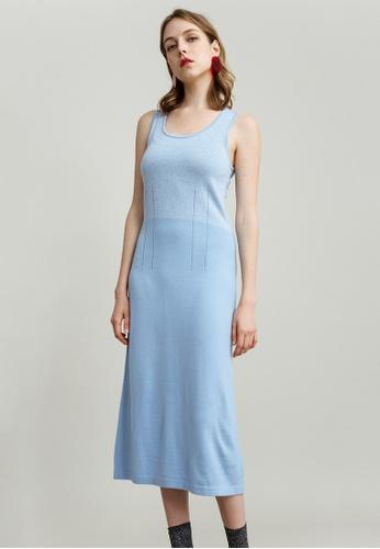 KLAPS blue Cami Dress CD4CBAA6AADE4FGS_1