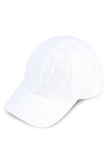 polo ralph lauren white Classic Sports Chino Cap DADAAAC68F24F2GS_1