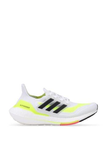 ADIDAS white ultraboost 21 w shoes 86BF7SH3E2608AGS_1