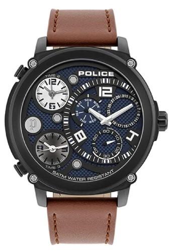 Police black and blue and brown Jam Tangan Pria Kulit Police PL.15659JSB03 Original DEB47ACEA74ABAGS_1