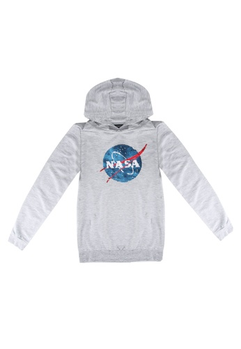 LC Waikiki grey Boy's Double-Sided Nasa Sweatshirt ED7B9KAE536F4FGS_1
