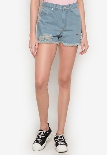 2c67927055 Shop NEXT Distressed Denim Shorts Online on ZALORA Philippines