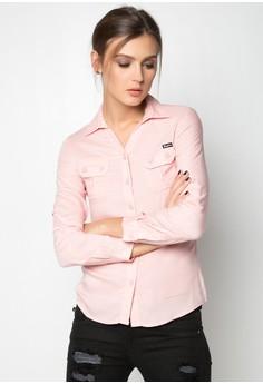 Longsleeves Woven Shirt