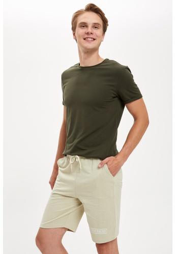 DeFacto green Man Knitted Bottom Short B0731AAD3188D4GS_1
