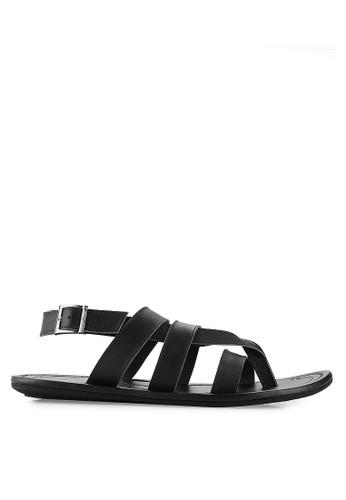 MARC & STUART Shoes black Arsen MA456SH39FKEID_1