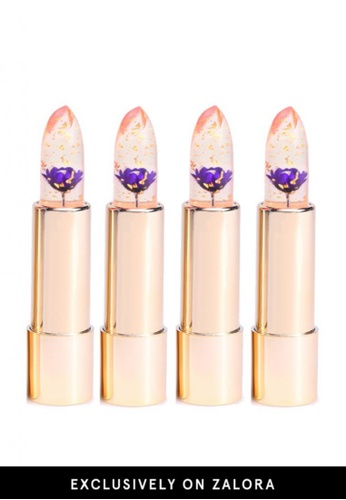 Kailijumei purple Dream Purple Lipstick 4pcs Set KA452BE38QMRMY_1