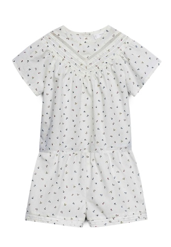 MANGO BABY white Printed Cotton Pyjamas 03581KA25370C9GS_1
