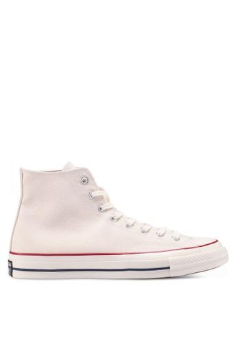 Converse beige Chuck Taylor All Star 70 Core Hi Sneakers 05F33SHBCC6794GS_1