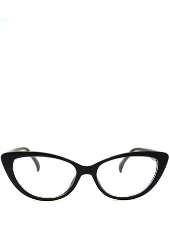 Eye Know Right black The Killer Kitties Clear Sunglasses EY595GL47ZVCPH_1