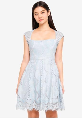 Foxiedox blue Theodora Dress 1D6B3AA6B3A97FGS_1