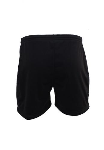AMNIG black AMNIG Rugby Player Shorts (Black) C60B0AA49E73CAGS_1