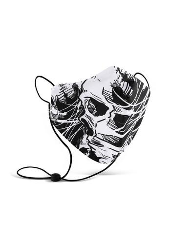 Cressida black Masker Kain 3 Ply Cressida Next level I186 DDAE2ES8D06E42GS_1