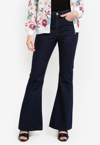Zalia blue Minimalist Boot Cut Jeans 092D0ZZ97FB56EGS_1