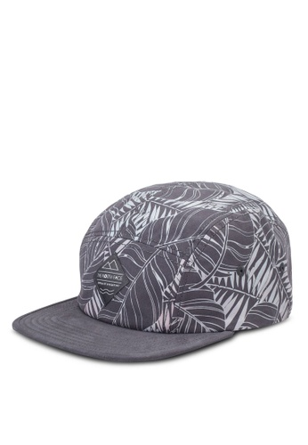 The North Face grey Tnf Five Panel Ball Cap TH274AC69IDYMY_1
