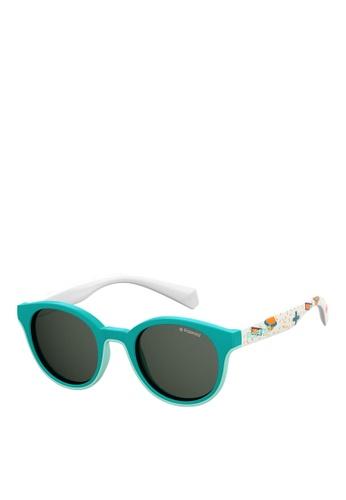 Polaroid Kids green PLD 8036/S Sunglasses 2C534KC0D5E862GS_1