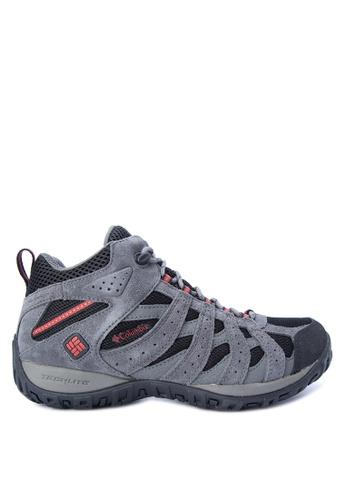 Columbia black Redmond Mid Waterproof Men's Shoes C6070SH784A50DGS_1