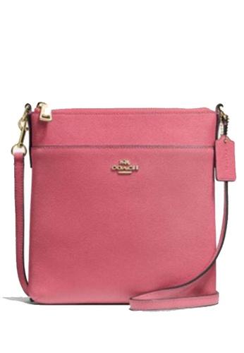 COACH pink COACH Kitt Messenger Crossbody Bag C75E9AC6E82ED8GS_1