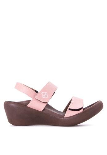 64bfcfef2d2d Shop RegettaCanoe Clover Wedge Sandals Online on ZALORA Philippines