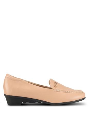 Alfio Raldo brown Pleather Loafers 1381DSHB072965GS_1