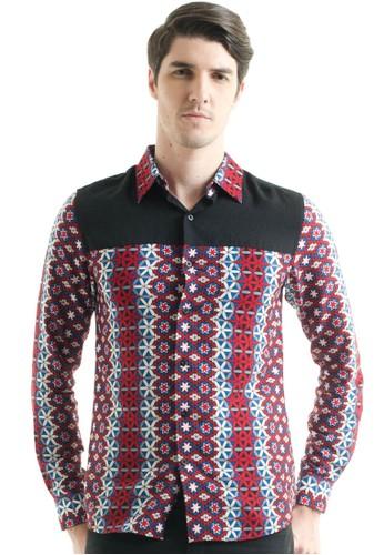 Bateeq Long Sleeve Doby Print Shirt