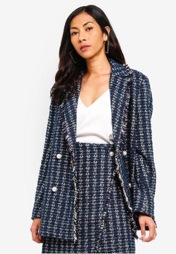 ESPRIT blue Indoor Woven Regular Jacket 19A29AAD5A7BEAGS_1