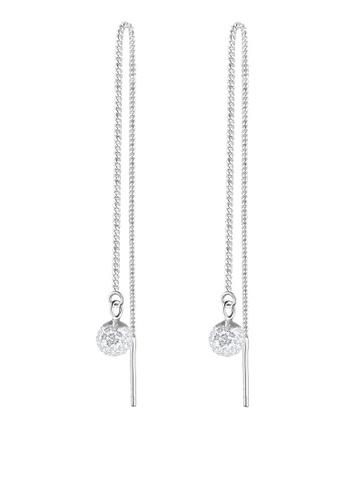 Elli Germany Silver 925 Sterling Chain Earrings El474ac96dopmy 1